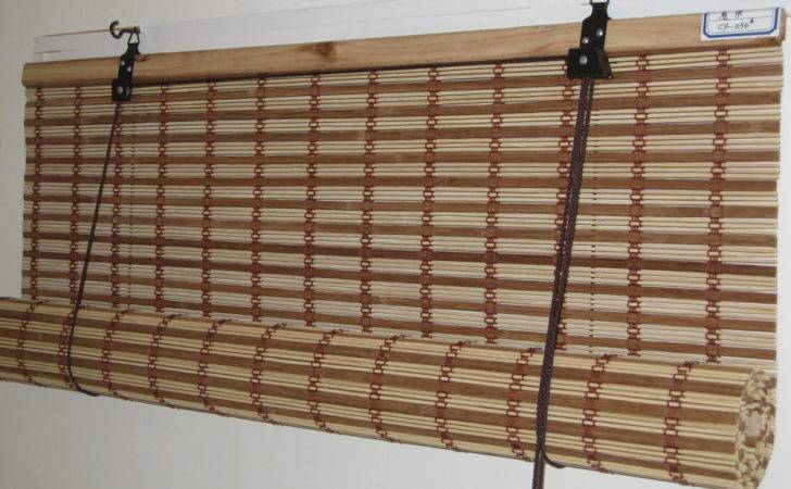 Bamboo Outdoor Roll Blinds Products