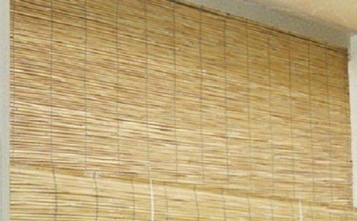 Bamboo Patio Blinds Outdoor Balcony Deck Roll Wood