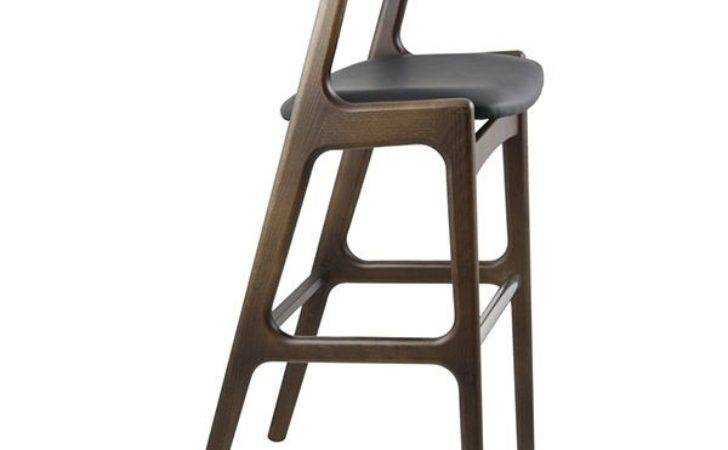 Bar Stools Wood Chairs Reception Simple