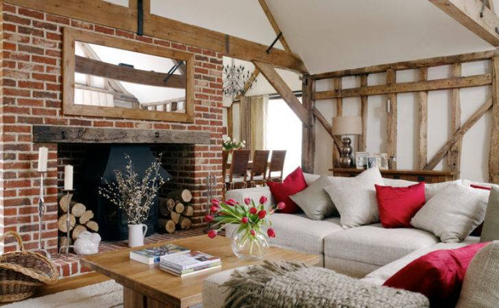 Barn Conversion Country Living Room South East