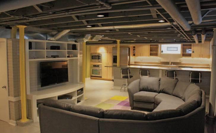 Basement Makeover Ideas Diy Projects Craft