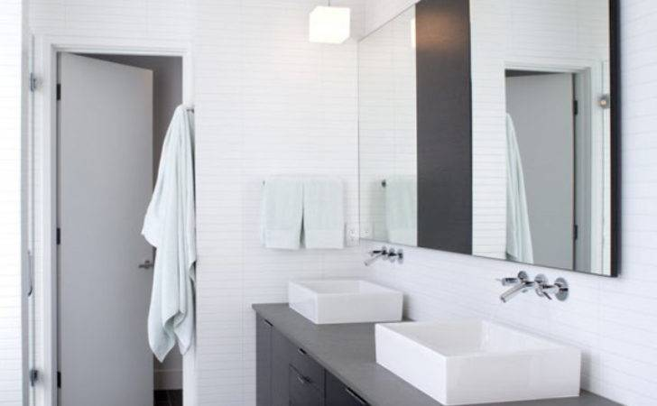 Bathroom Designs Grey White