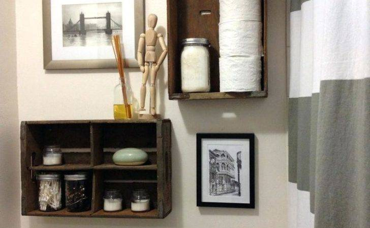 Bathroom Shelves Over Toilet Shelving Ideas