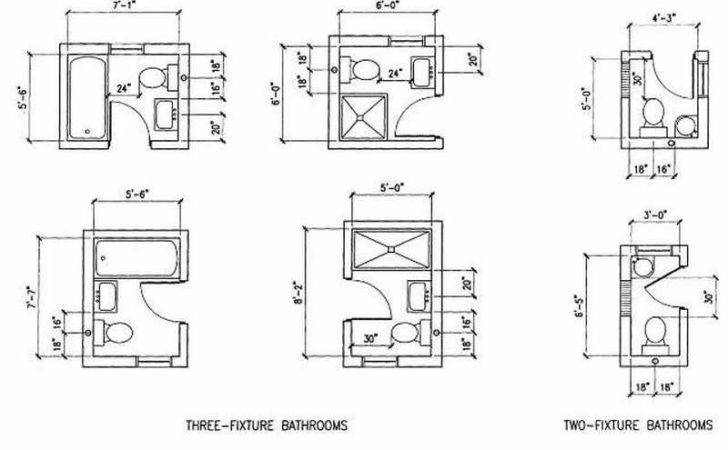 Bathroom Very Small Design Plans