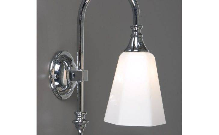 Bathroom Wall Light Chrome Traditional Bathrooms