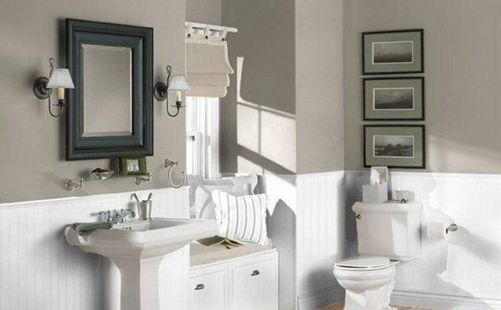 Bathroom White Grey Neutral Color Schemes