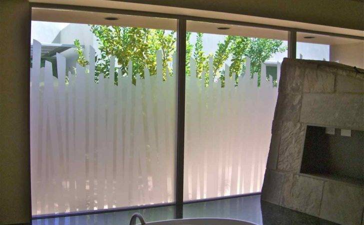 Bathroom Windows Etched Glass Designs Privacy
