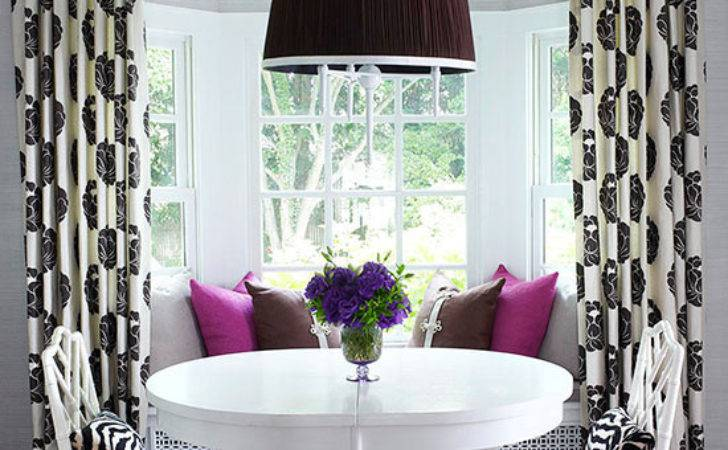 Bay Bow Window Treatment Ideas