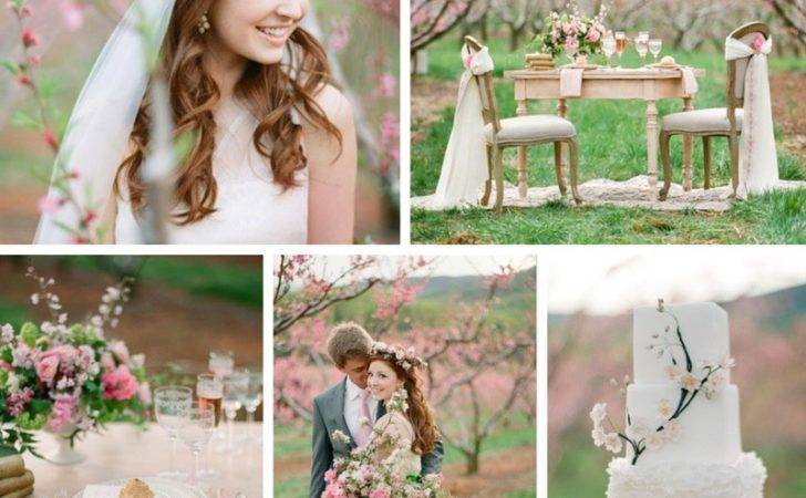 Beautiful Blossom Filled Spring Wedding Ideas