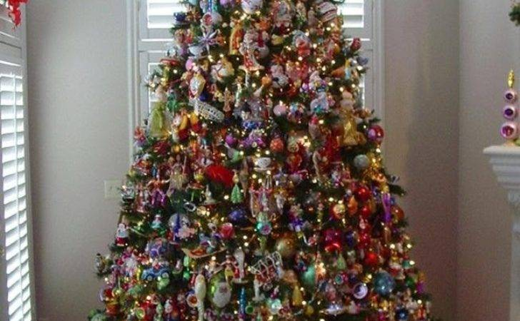Beautiful Christmas Trees Link Party Celebrate