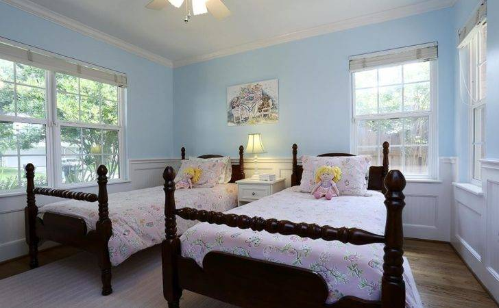 Beautiful Examples Light Blue Walls Bedroom
