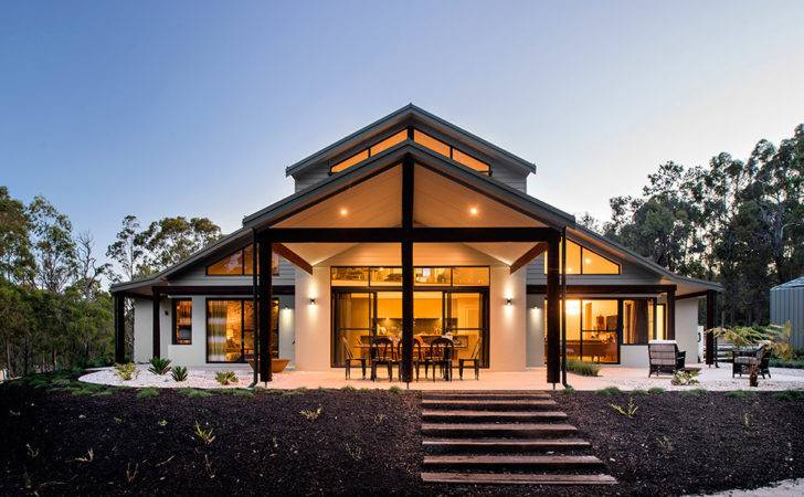 Beautiful Modern House Australia Adorned Authentic