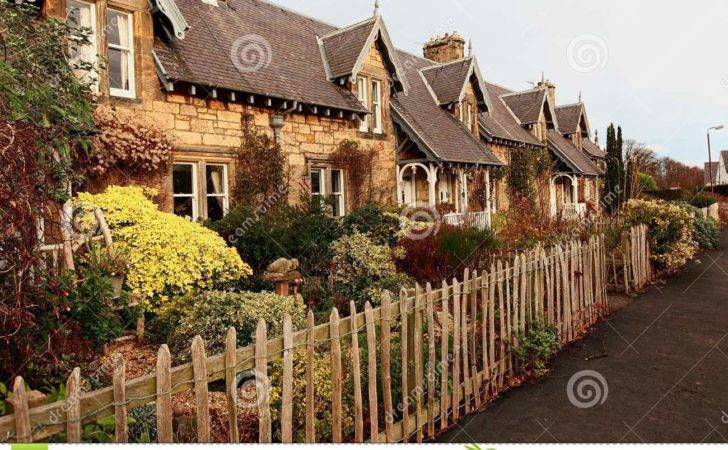 Beautiful Old Traditional Scottish Houses