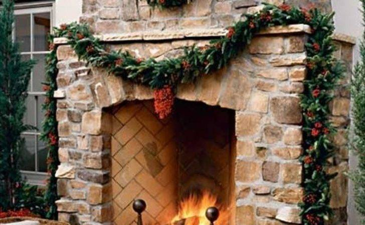 Beautiful Outdoor Fireplaces Home Design