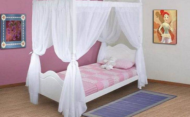 Beautiful Pink Four Poster Your Princess Furniture