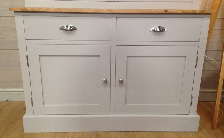 Beautiful Solid Pine Painted Welsh Dresser Farmhouse