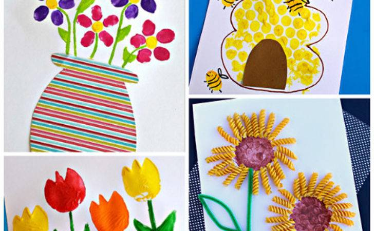 Beautiful Spring Crafts Kids Create Crafty Morning