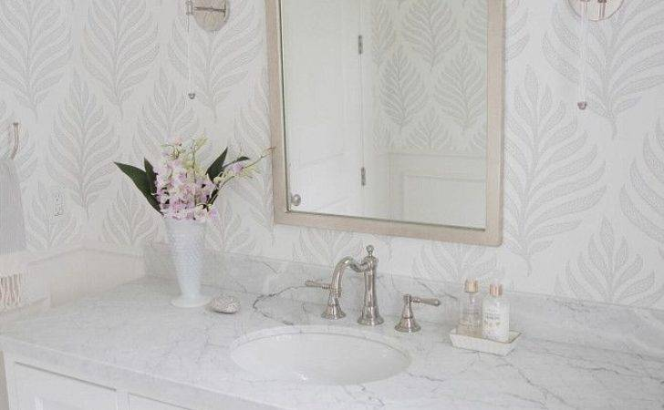 Beautiful Wallpapered Bathrooms