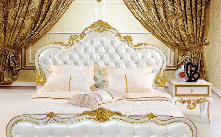 Bed French Style White Princess Beds