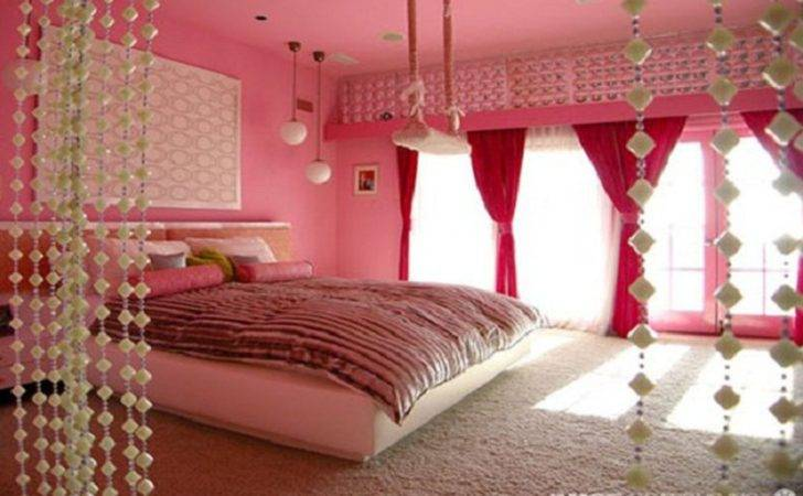 Bedroom Cool Teenage Girl Room Themes Ceiling Lamps Pink