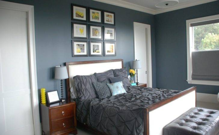 Bedroom Design Stay Home Ista Grey Yellow Master