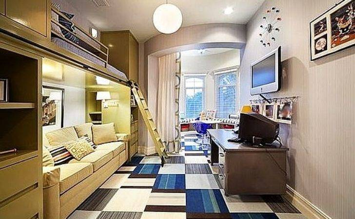 Bedroom Designs Modern Bunk Beds Teenage Boys Room