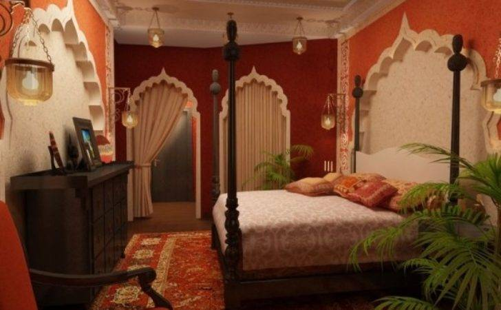 Bedroom Indian Style Interiorholic