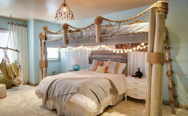 Bedroom Over Garage Beach Style Traditional Wall Mirrors