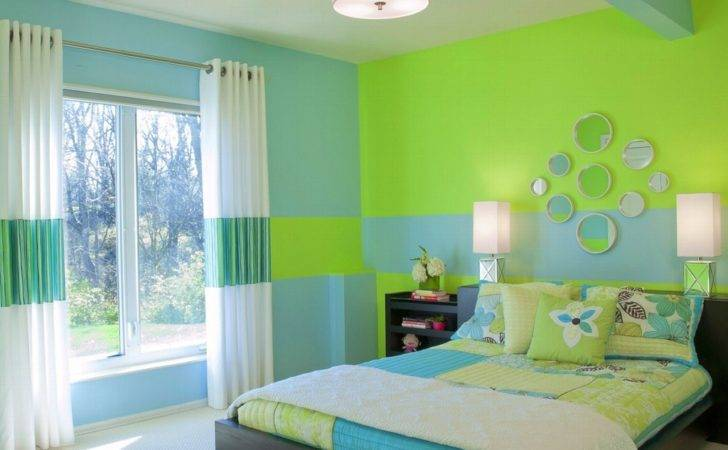 Bedroom Paint Color Green Shade Ideas