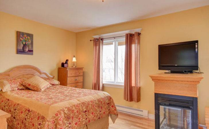 Bedroom Painting Orange Color Home Combo