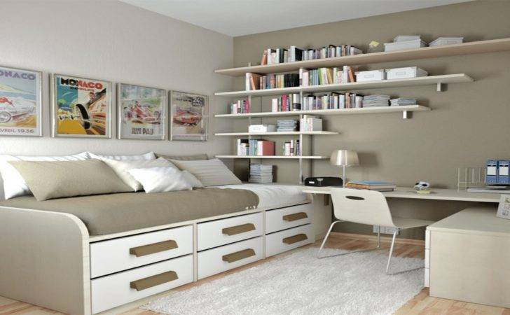 Bedroom Storage Ideas Small Rooms Spare Room Office