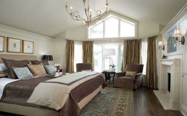 Bedroom Traditional Master Decorating Ideas