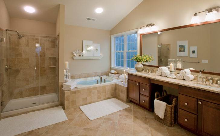 Beige Bathroom Out Outer Banks Blue Real Estate
