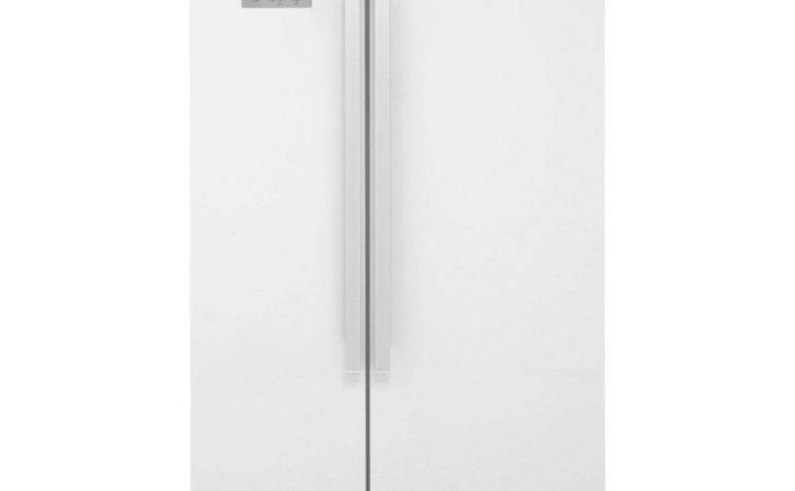 Beko Asl American Fridge Freezer Gloss White