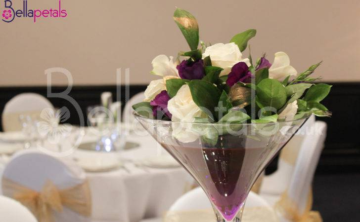 Bellapetals Wedding Table Centerpieces