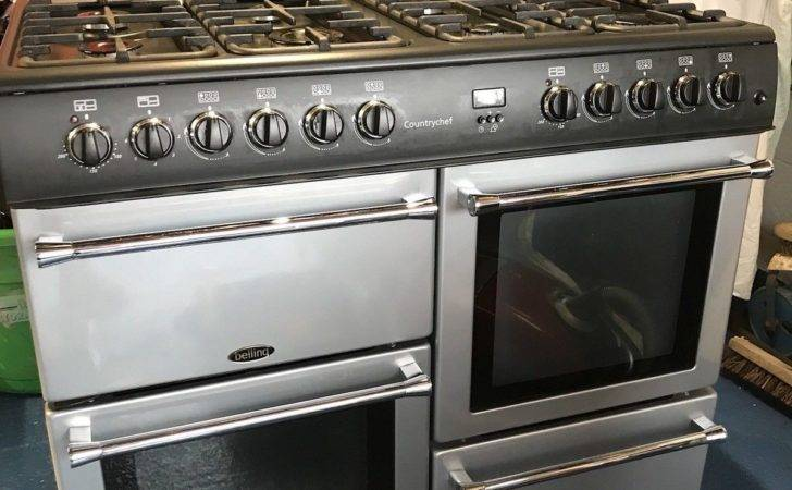 Belling Country Chef Anthracite Grey Dual Fuel