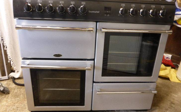 Belling Country Chef Dual Fuel Range Cooker Lpg Electric