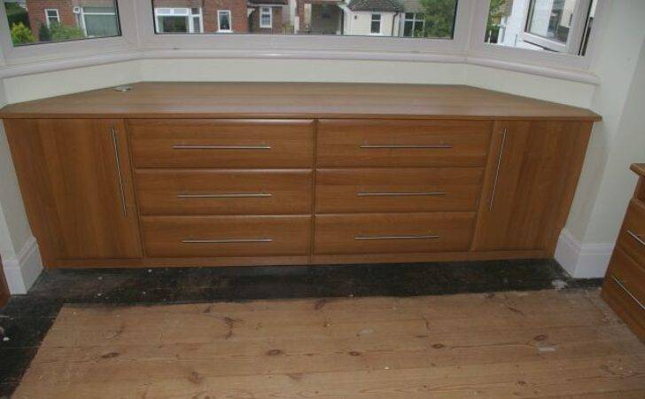 Bespoke Drawer Unit Fitted Into Angled Dormer Bungalow