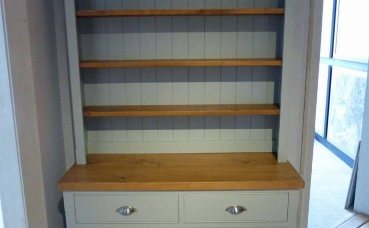 Bespoke Painted Open Rack Dresser Solid Wood