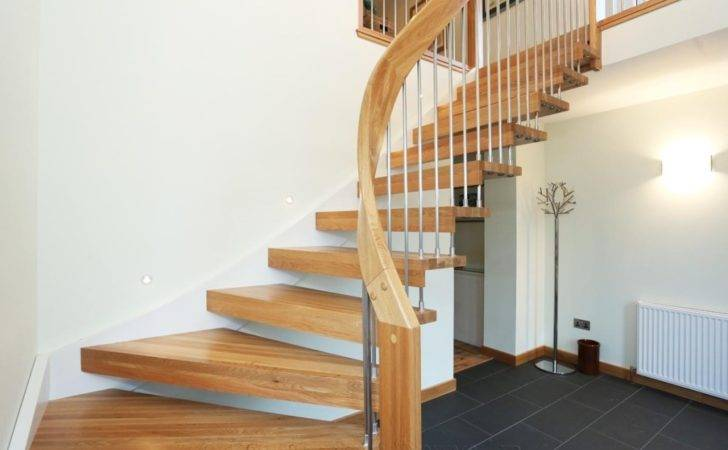 Bespoke Timber Staircase Aberdeen Floating Treads