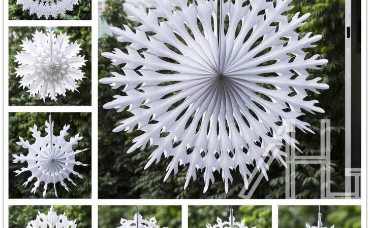 Best Buy Paper Snowflake Decorations Diy