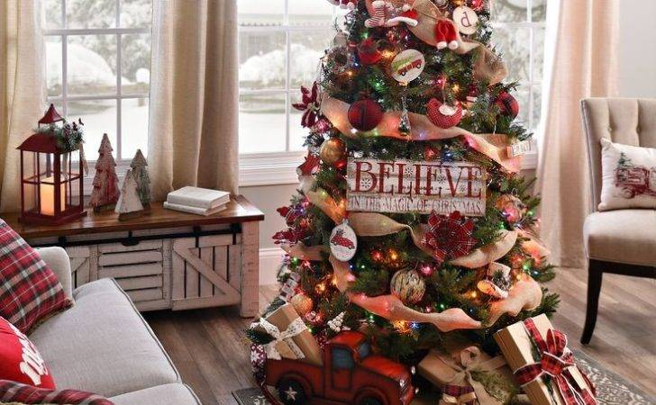 Best Country Christmas Trees Ideas Pinterest