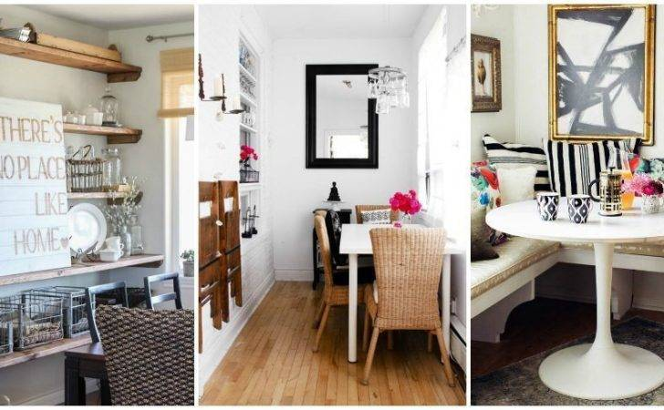 Best Design Dining Rooms Small Spaces Nice Interior