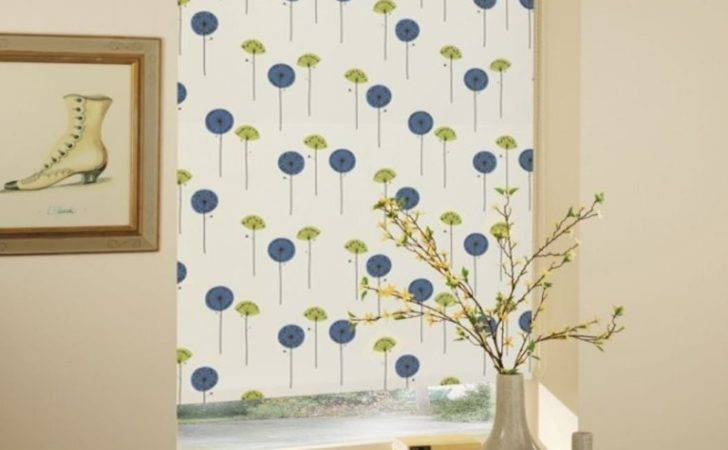 Best Ideas Patterned Roller Blind House Decoration