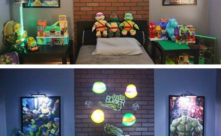 Best Ninja Turtle Bedroom Ideas Pinterest