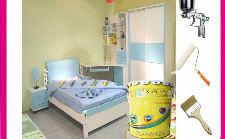 Best Quality Odor Latex Paint Bedroom Wall