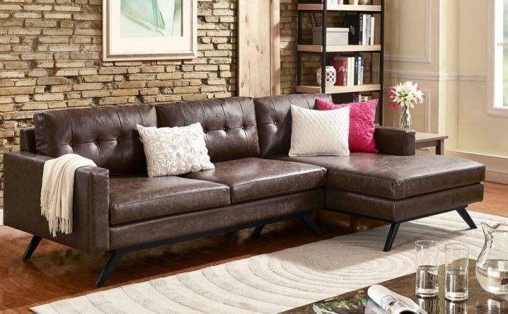 Best Sectional Sofas Small Spaces Overstock Pertaining