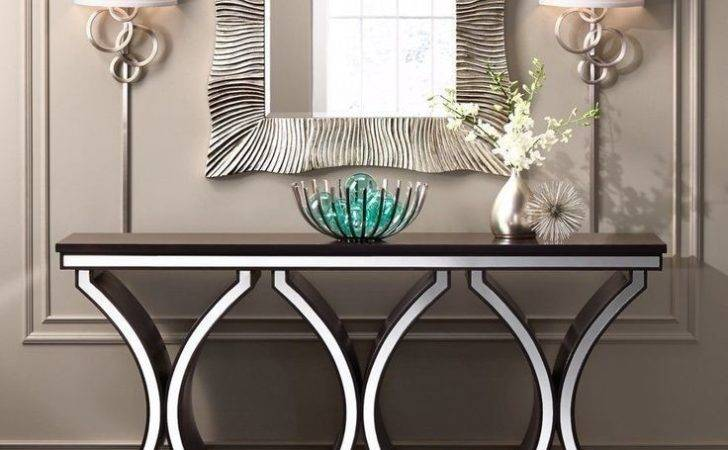 Best Silver Console Table Ideas Pinterest