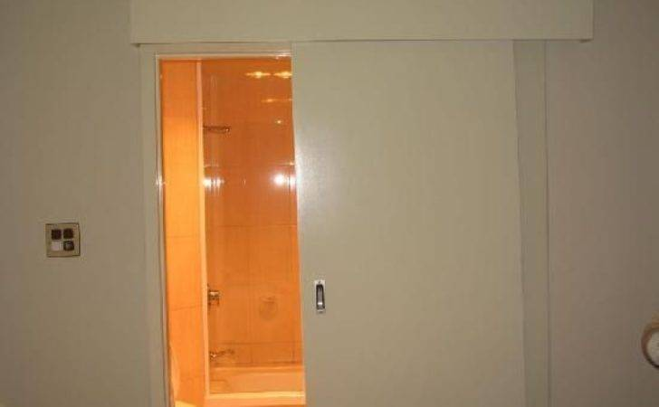 Best Sliding Bathroom Doors Ideas Pinterest