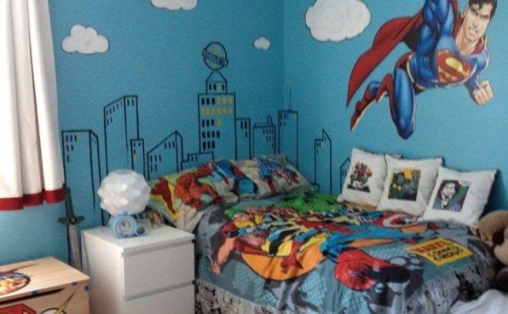 Best Superman Bedroom Ideas Pinterest